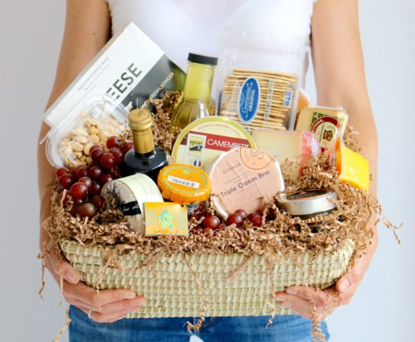 cheese, charcuterie, basket, floral, catering, buy online