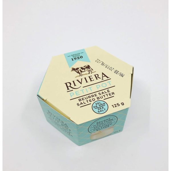 Riviera Sea Salt Butter - 125g
