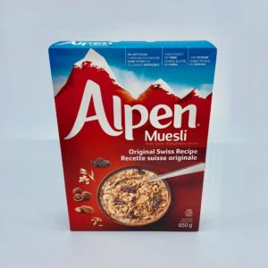 Alpen Muesli Original Recipe