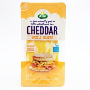 Arla Sliced Marble Cheddar Cheese