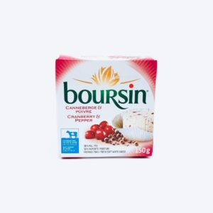 Boursin Cranberry and Pepper - 150g