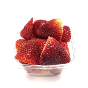 Small Size Fresh Cut Strawberries