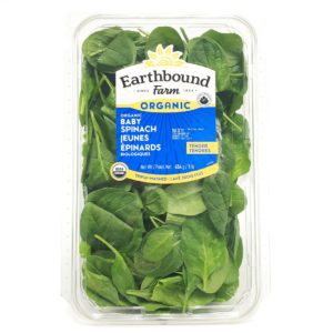 Earthbound Farms Organic Baby Spinach 1lb