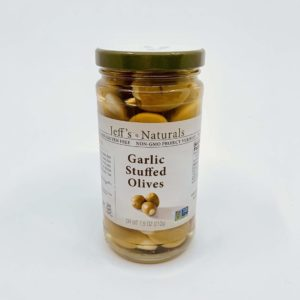 Jeff's Garlic Stuffed Olives
