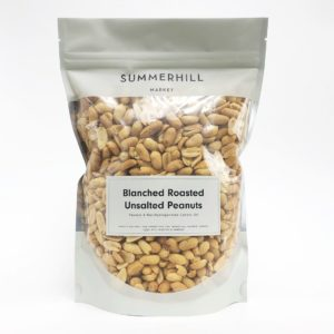 Unsalted Blanched Peanuts - Large Bag