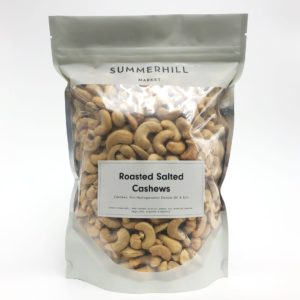 Salted Roasted Cashews - Large Bag