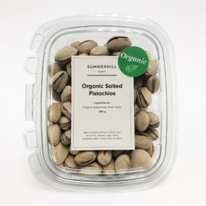 Organic Salted Pistachios